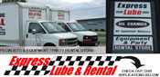 Welcome to Express Lube & Rental