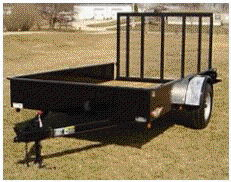 Where to rent TRAILER, 5  X 10  W GATE in New Richmond WI, Hudson WI, Baldwin WI, Clayton WI, Osceola WI