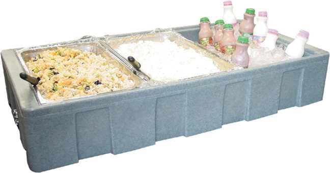 Where to rent TRAY, ICE SMALL  TABLE TOP in Hudson Wisconsin, New Richmond WI, Baldwin WI, Clayton WI, Osceola WI