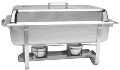 Where to rent CHAFER, 4 QT STAINLESS RECT in New Richmond WI