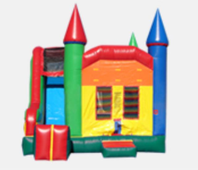 Where to rent BOUNCER, W SLIDE CASTLE in Hudson Wisconsin, New Richmond WI, Baldwin WI, Clayton WI, Osceola WI