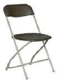 Where to rent CHAIR, GRAY FOLDING in New Richmond WI