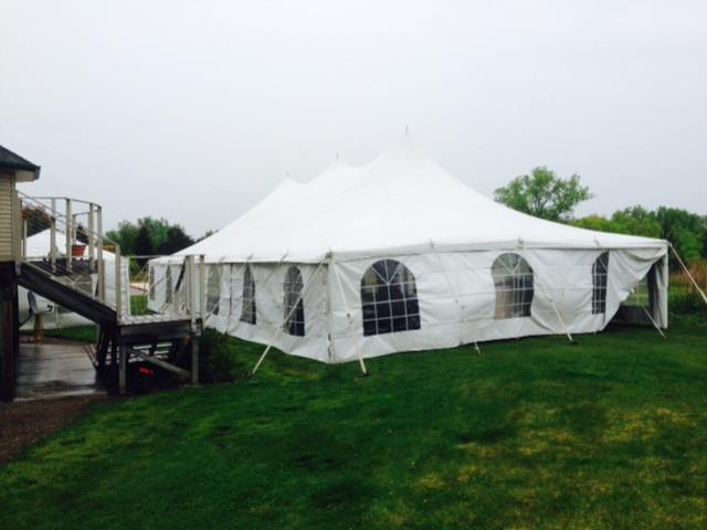 Where to rent TENT, 30 X 60 in Hudson Wisconsin, New Richmond WI, Baldwin WI, Clayton WI, Osceola WI