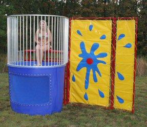Where to find DUNK TANK  ON WHEELS in New Richmond