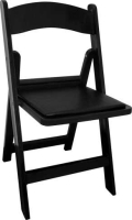 Where to rent CHAIR, BLACK PADDED in New Richmond WI