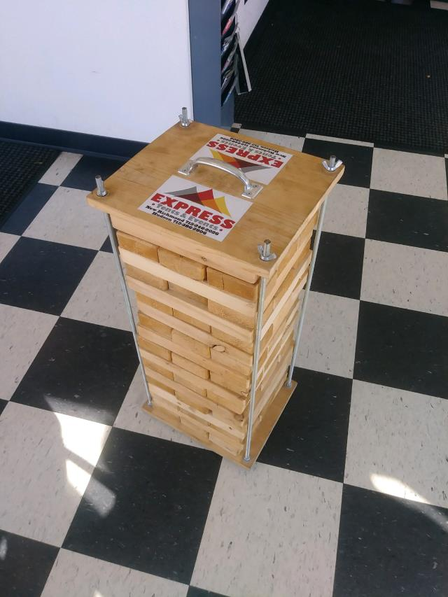 Where To Rent GAME, YARD JENGA In Hudson Wisconsin, New Richmond WI, Baldwin