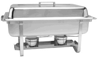 Where to rent CHAFER, 4 QT STAINLESS RECT in Hudson Wisconsin, New Richmond WI, Baldwin WI, Clayton WI, Osceola WI