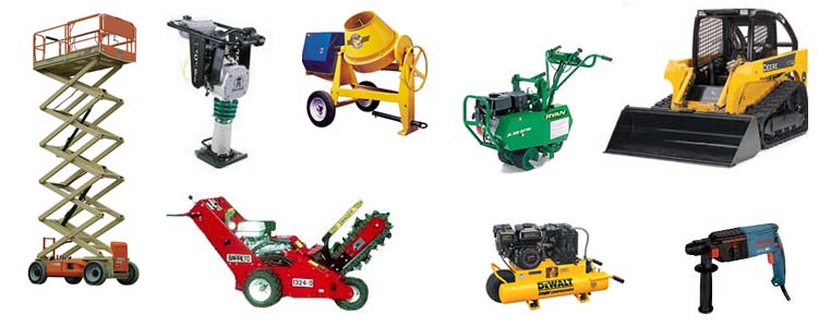 Equipment rentals in Hudson Wisconsin, New Richmond WI, Baldwin WI, Clayton WI, Osceola WI